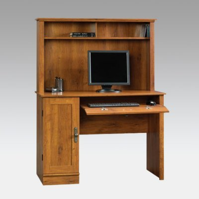 Buy Low Price Comfortable Sauder Harvest Hill Computer Desk and Hutch (B003K0O7K6)