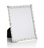"Cluster Gem & Diamanté Photo Frame 20 x 25cm (8 x 10"")"