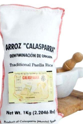 Calasparra Rice (Paella Rice) - 2 bags, 4.4