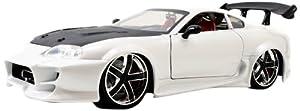 Toyota Supra White Lopro 1/18 by Jada 96616