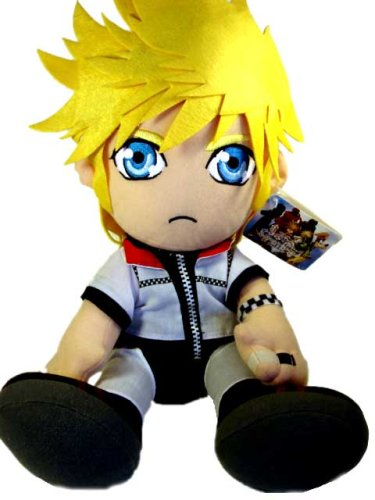 Kingdom Hearts 2 – 12″ Sitting Roxas Plush image