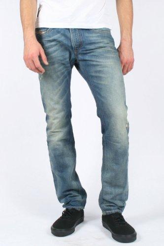 Diesel - Mens Thavar 0806P Denim Jeans, Size: 36W x 32L, Color: Denim