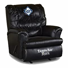 Buy MLB Tampa Bay Rays Big Daddy Leather Recliner by Imperial