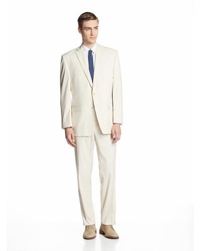 Calvin Klein Men's Malik Solid Two Button Suit