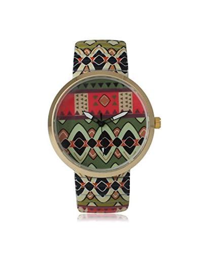 Olivia Pratt Women's 14171 Tribal Stretchband Multi/Multi Alloy Watch