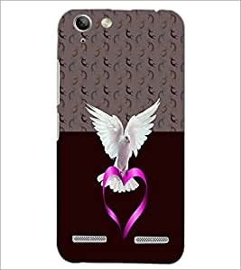 PrintDhaba White Piegon D-4996 Back Case Cover for LENOVO VIBE K5 (Multi-Coloured)