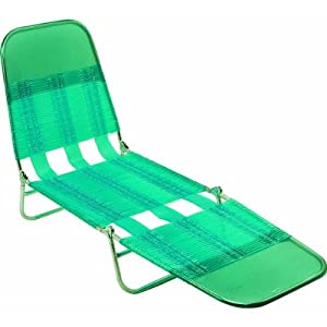 Amazon Steel PVC Jelly Folding Chaise Lounge Patio Lounge Chairs Patio Lawn & Garden