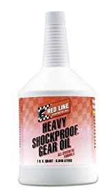 Red Line 58204-12PK Heavy ShockProof Gear Oil - 1 Quart, (Pack of 12)
