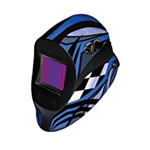 ArcOne I540-0971 Industrial Xtreme Variable Auto-Darkening VMX Blue Viper Helmet with IX540V Filter