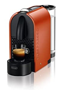 DeLonghi EN 110.O Nespresso U Kapselmaschine / 0,8 l Wasserbehälter / orange