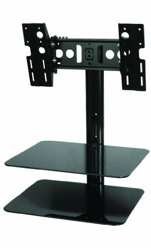 AVF ESL422B LCD TV Wall Bracket  &  Glass AV Shelves 25
