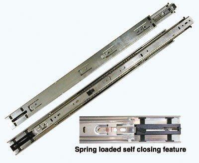 KV 8400 Series Full Extension Precision Ball Bearing Slides Self Closing 22 100 Class SetB0006FKX5G
