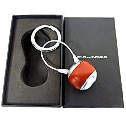 Piquadro Portachiavi Blue Square arancione con cavetto PC1752B2/AR