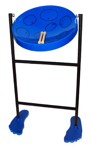 Jumbie Jam Steel Drum Musical Instrument, Blue