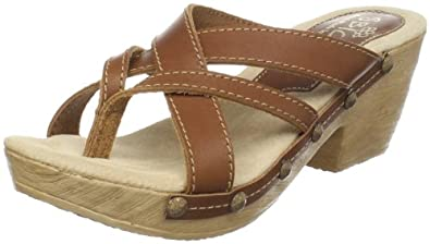 Sbicca Women's Nerissa Thong Sandal,Light Brown,6 B US