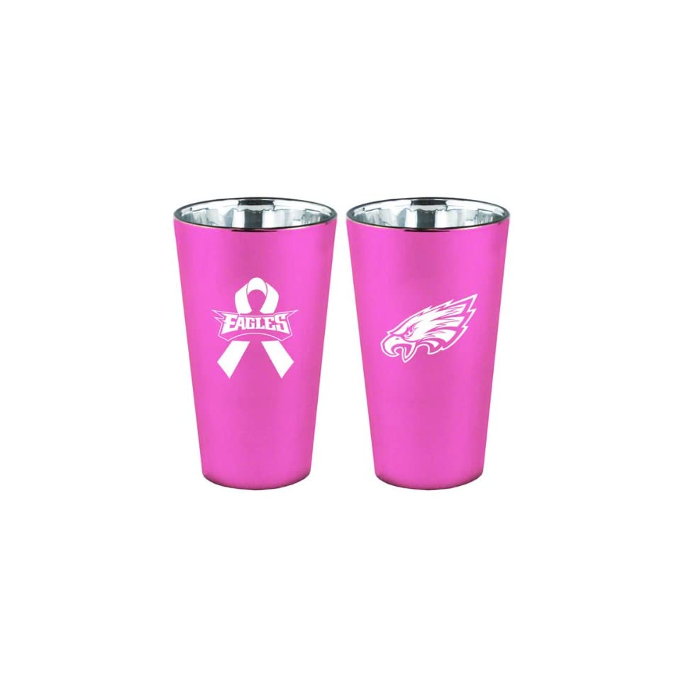 1828ec085b9 Philadelphia Eagles Breast Cancer Awareness Lusterware Pint on PopScreen