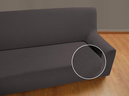 VELFONT-Bielastischer-Sofabezug-Universal-3-Sitzer-Grau-verfgbar-in-verschiedenen-Gren-und-Farben