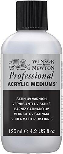 Winsor & Newton - Barniz (125 ml, acr�lico, acabado satinado)