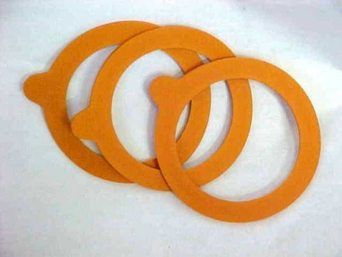 70mm top Le Parfait / SMALL JAR ONLY Bormioli Fido Replacement Canning Rubber Gasket From France -Fits Smaller Terrine Style Jars 4 Ounce (125g) and 7 Ounce (200g) - 6 Pcs
