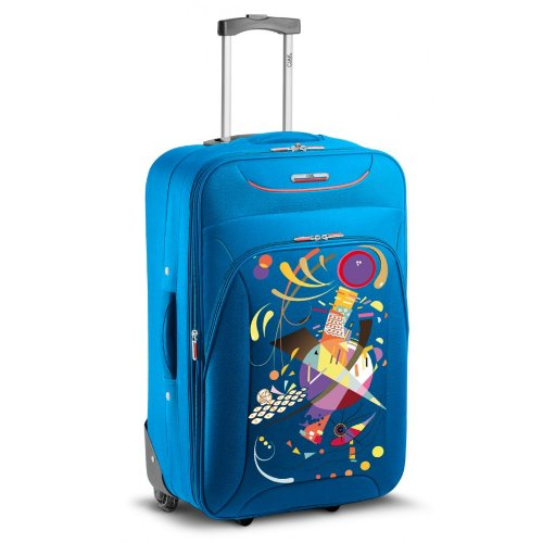 TROLLEY GRANDE RONCATO CIAK UP FUN - 2 RUOTE - ESPANDIBILE (FRENCH BLUE)