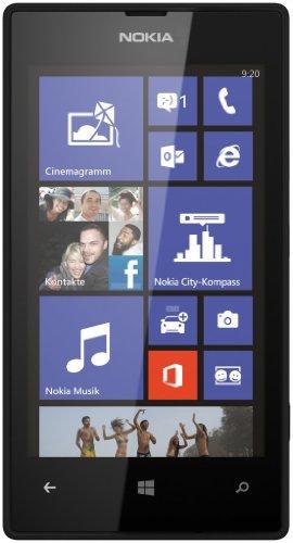 Nokia Lumia 520 Smartphone, Black [Italia]