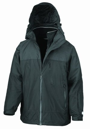 Result Arctic Peninsula Hi-Tech 4-in-1 Jacket Black/Black XXXL