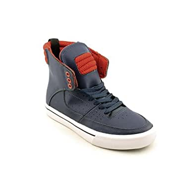 Amazon.com: Supra Kondor Mens Size 10 Blue Leather Sneakers Shoes UK 9