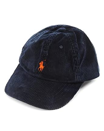 polo ralph lauren caps men casquette velours bleu marine one size clothing. Black Bedroom Furniture Sets. Home Design Ideas