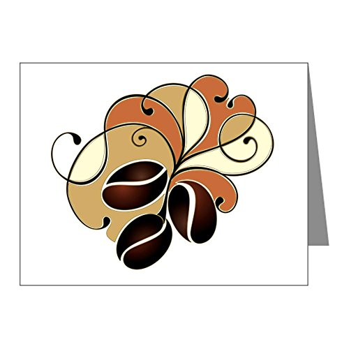 Note Cards (20 Pack) Coffee Bean Floral