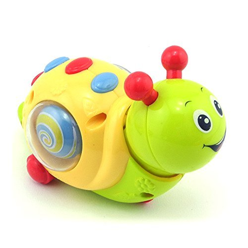 iSaddle Children Educational Toys Cartoon Animal Unique Wind-up Snail Toy