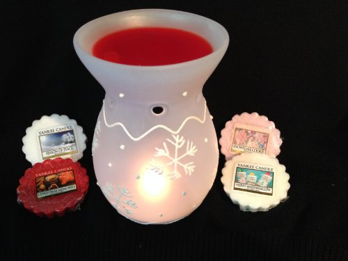 Yankee Candle Snowflake Cookie Wax Tart