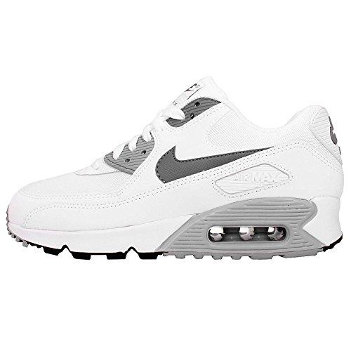 Nike Women's Air Max 90 Essential White/Cool Grey/Wolf Grey/Blk Running Shoe 8.5 Women US