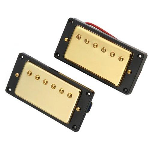 Generic Gold Double Coil Humbucker Pickups Set For Lg Sg Guitar