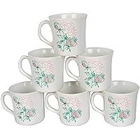 6 Pieces Tea Cup Set | Tea/Coffee Cup Set Of 6 (Set 4)
