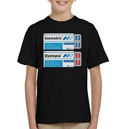 Red Or Blue Matrix Pills Kid's T-Shirt