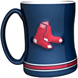 MLB Boston Red Sox 14-Ounce Sculpted Relief Mug