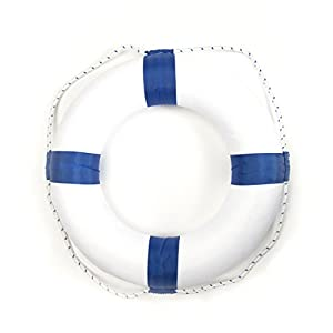 Foam Ring Buoy Swimming Pool Safety Life Preserver W Nylon Cover Child Sports