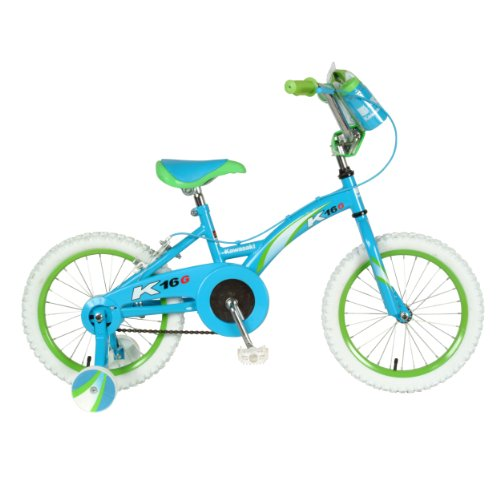 QQ Reviews Kawasaki K16G Girls' Bike (16-Inch Wheels)