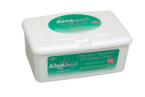 Aloetouch Wipes: 9X13, Pop-Up Tub back-593826