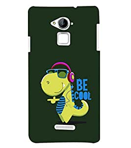 PRINTSHOPPII CARTOON FUNNY Back Case Cover for Coolpad Note 3