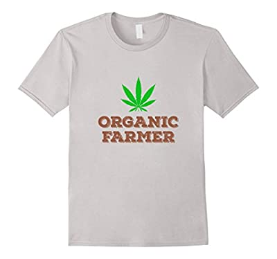 Organic Farmer 420 Hemp Weed Ganja Pot Cannabis T-Shirt