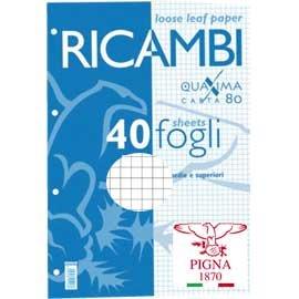 Pigna - Folios de recambio tamaño A4