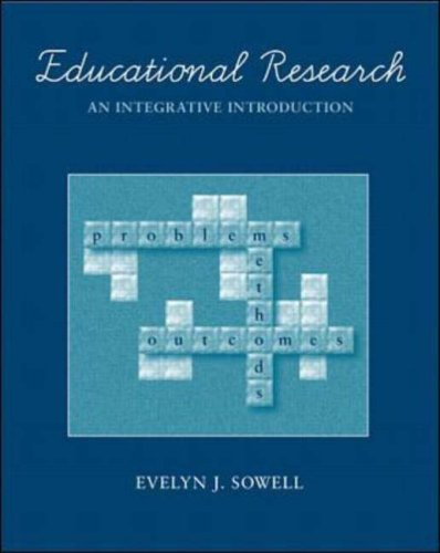 Educational Research: An Integrative Introduction