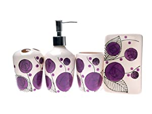 ... MANI VISO CORPO IGIENE ROSE (SET DA BAGNO): Amazon.it: Casa e cucina