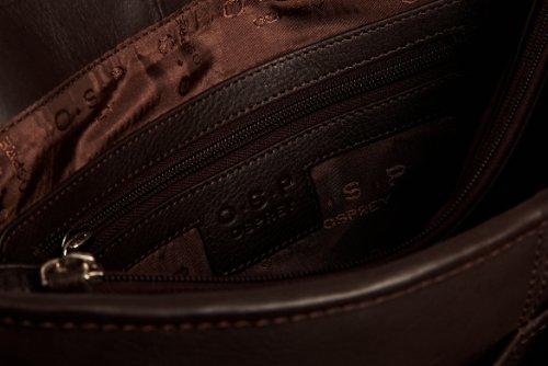 O.S.P Mens Fairmont Satchel Shoulder Bag - luggage