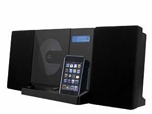 Doble vertical 150 Sistema compacto (CD/MP3/WMA-Player, sintonizador de radio FM, ranura para tarjetas SD, USB) Negro [importado de Alemania]