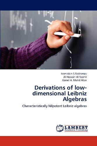 Derivations of low-dimensional  Leibniz Algebras: Characteristically Nilpotent Leibniz algebras