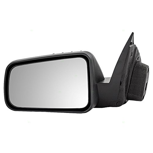 Drivers Power Side View Mirror Textured Replacement for Ford 8S4Z17683BA (09 Ford Focus Driver Side Mirror compare prices)
