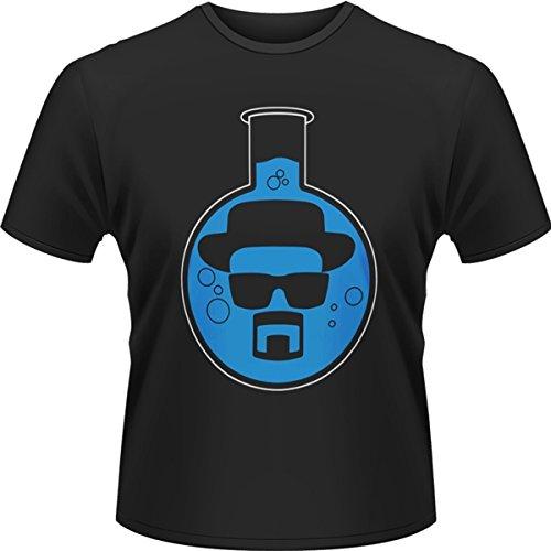 Playlogic-InternationalWorld-Breaking-Bad-Round-Bottom-Flask-Camiseta-manga-corta-Hombre