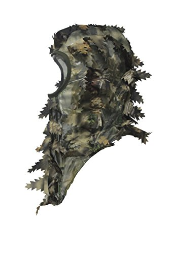 North Mountain Gear Ambush HD Full Cover Leafy 3D Hunting Camouflage Face Mask One Size (Head Cover Camo compare prices)